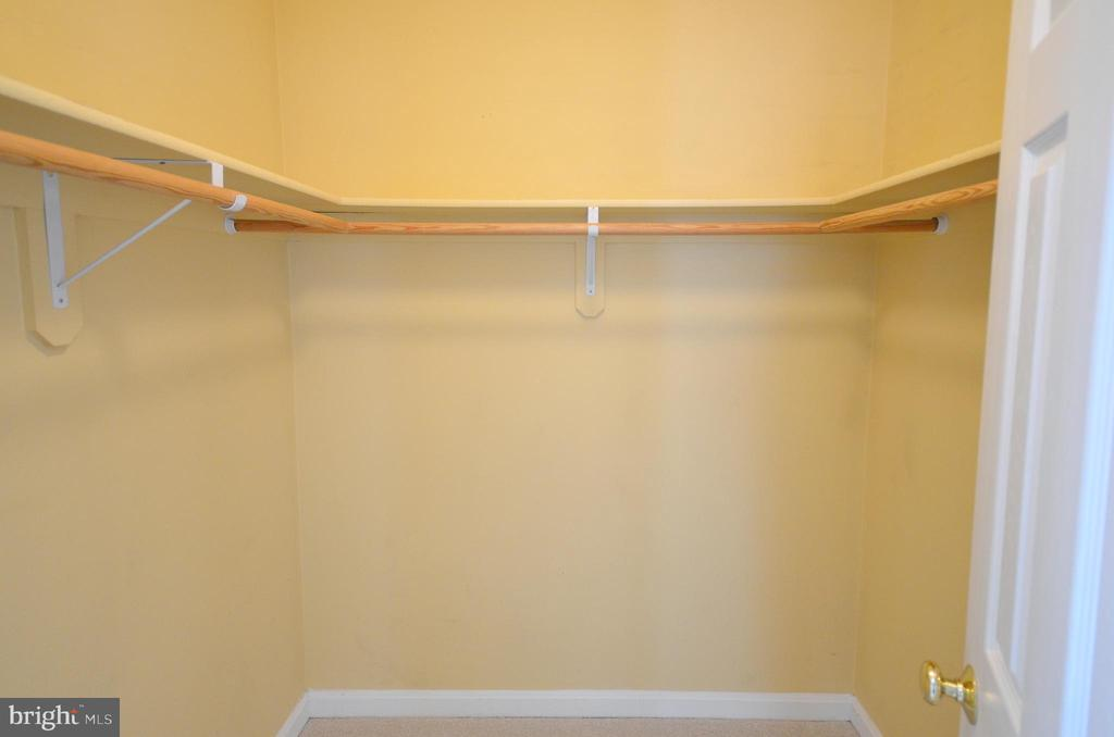 Master Bedroom Walk-in Closet - 21012 TIMBER RIDGE TER #203, ASHBURN