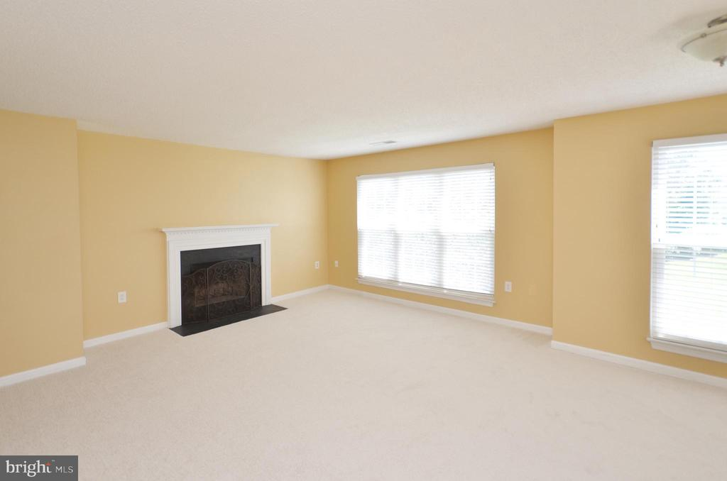 Living Room with Wood Fireplace - 21012 TIMBER RIDGE TER #203, ASHBURN