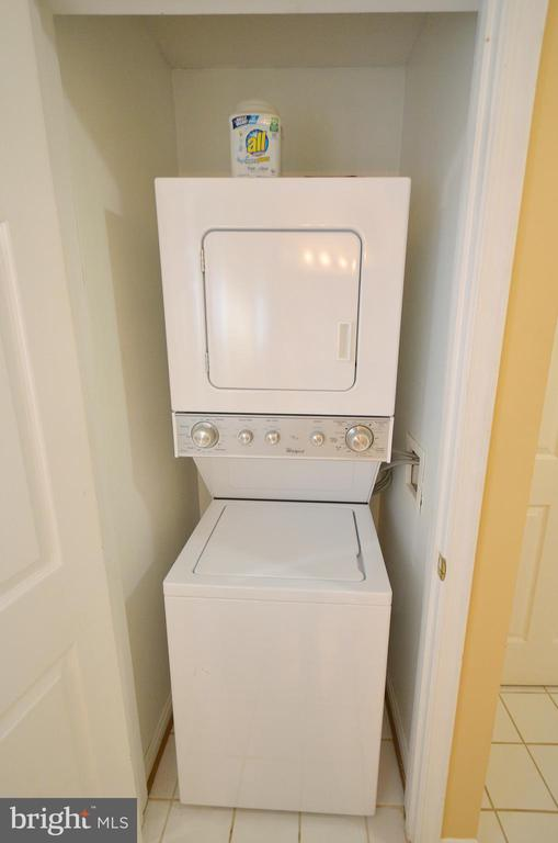 Washer & Dryer in the Property - 21012 TIMBER RIDGE TER #203, ASHBURN
