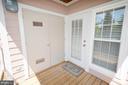 Balcony off the Living Room - 21012 TIMBER RIDGE TER #203, ASHBURN