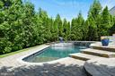 Pool with Jacuzzi Jets - 43860 PINEY STREAM CT, CHANTILLY