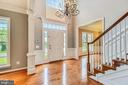 Foyer (Hardwood Throughout) - 43860 PINEY STREAM CT, CHANTILLY