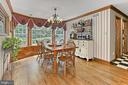 Eat-in kitchen with Wall of windows - 8317 CATHEDRAL FOREST DR, FAIRFAX STATION