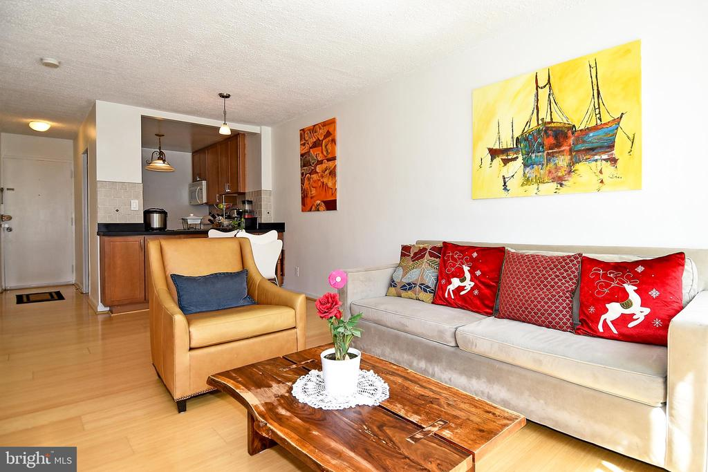 Living Room/Dining/Kitchen - 1330 NEW HAMPSHIRE AVE NW #311, WASHINGTON