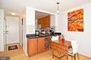 Dining/Kitchen - 1330 NEW HAMPSHIRE AVE NW #311, WASHINGTON