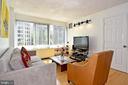 Super Bright Living Room - 1330 NEW HAMPSHIRE AVE NW #311, WASHINGTON