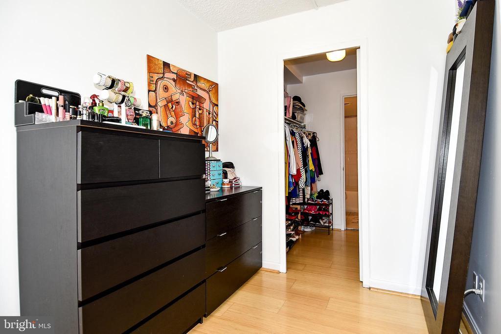 Bedroom/Walk In Closet - 1330 NEW HAMPSHIRE AVE NW #311, WASHINGTON