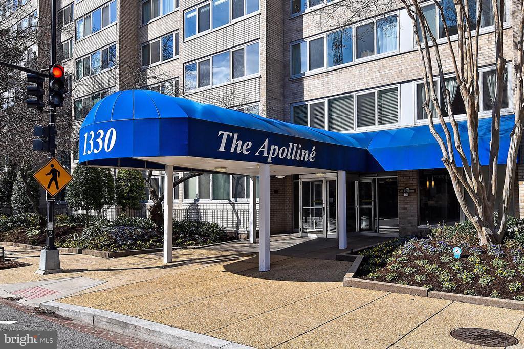 Front Entrance - 1330 NEW HAMPSHIRE AVE NW #311, WASHINGTON