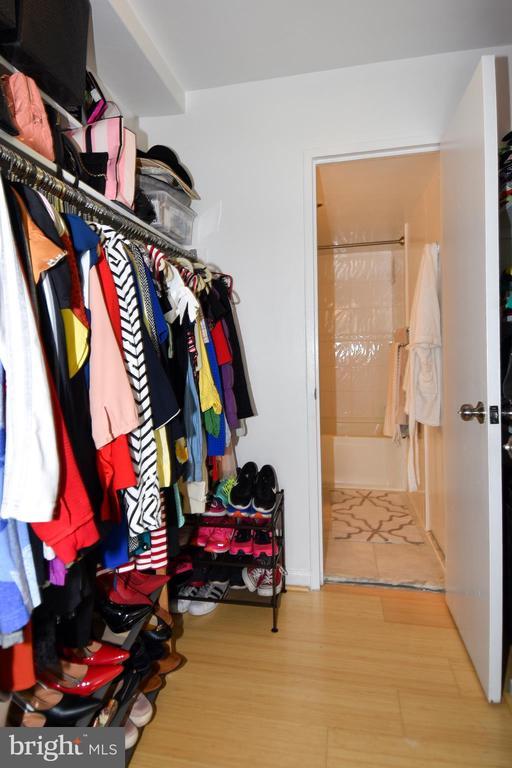 Walk In Closet to Main Bathroom - 1330 NEW HAMPSHIRE AVE NW #311, WASHINGTON