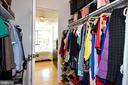 Large Walk In Closet to Main Bathroom - 1330 NEW HAMPSHIRE AVE NW #311, WASHINGTON
