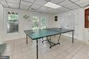 Walkout from recreation room to patio - 8317 CATHEDRAL FOREST DR, FAIRFAX STATION