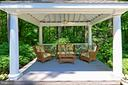 Pool side gazebo - 8317 CATHEDRAL FOREST DR, FAIRFAX STATION