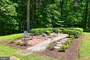 Landscaped ornamental garden - 8317 CATHEDRAL FOREST DR, FAIRFAX STATION