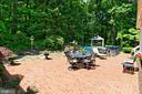 Brick patio for entertaining - 8317 CATHEDRAL FOREST DR, FAIRFAX STATION
