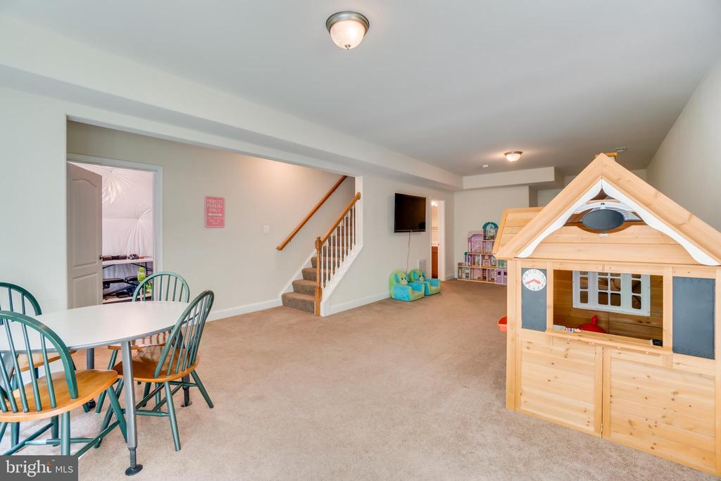 Stairs to Basement - 2714 BROOKE RD, STAFFORD