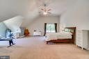 Vaulted Ceiling in Master - 2714 BROOKE RD, STAFFORD