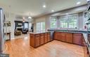 3 inch wide plank Oak Wood Floors on Main Level - 2714 BROOKE RD, STAFFORD