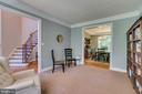 Opens to Formal Dining - 2714 BROOKE RD, STAFFORD