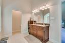 Master Bathroom with Upgraded Double Sink Vanitiy - 2714 BROOKE RD, STAFFORD