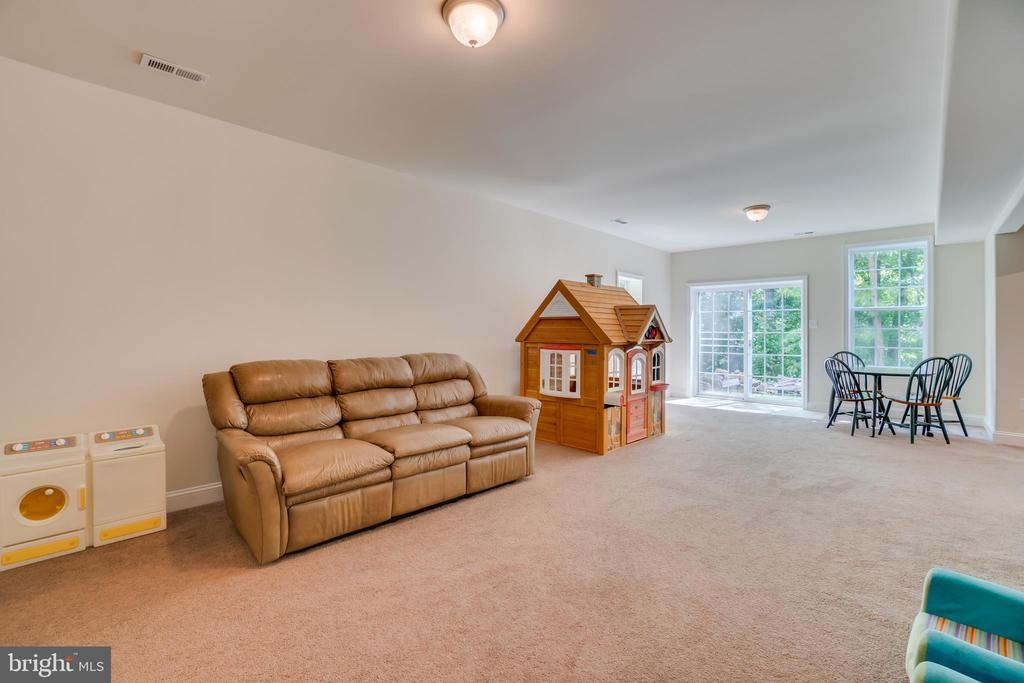 Carpeted Basement - 2714 BROOKE RD, STAFFORD