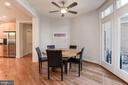 Several high end ceiling fans throughout this home - 22978 LOIS LN, BRAMBLETON