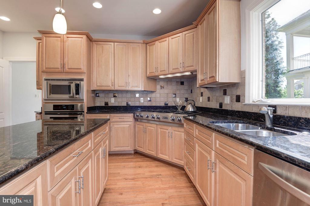 granite, stainless appliances - 22978 LOIS LN, BRAMBLETON