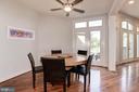 Morning room off kitchen - 22978 LOIS LN, BRAMBLETON