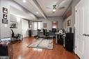 Lower level bonus room 2 - used now as office - 22978 LOIS LN, BRAMBLETON