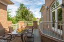 ...perfect for summer dining - 22978 LOIS LN, BRAMBLETON