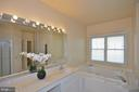 Master Bath in main floor - 5111 HIRST VALLEY WAY, CENTREVILLE