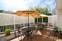 Willow Tree provides ample privacy - 43198 ARBOR GREENE WAY, BROADLANDS