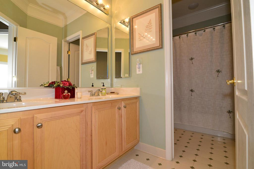 Hallway Bathroom with Private Bath - 43198 ARBOR GREENE WAY, BROADLANDS