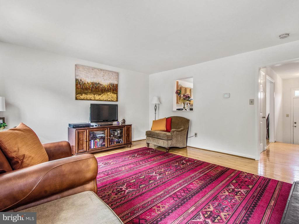 Living Room from Deck Door - 12706 PERCHANCE TER, WOODBRIDGE