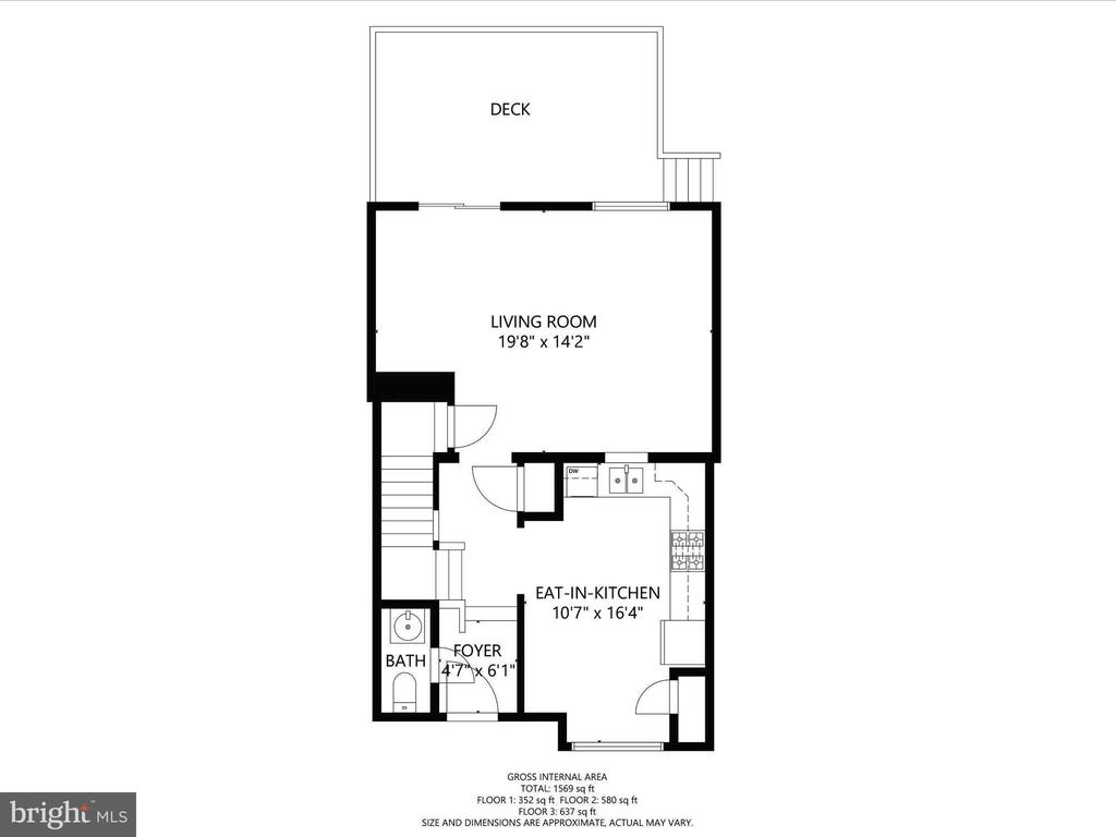 Main Floor Plan - 12706 PERCHANCE TER, WOODBRIDGE