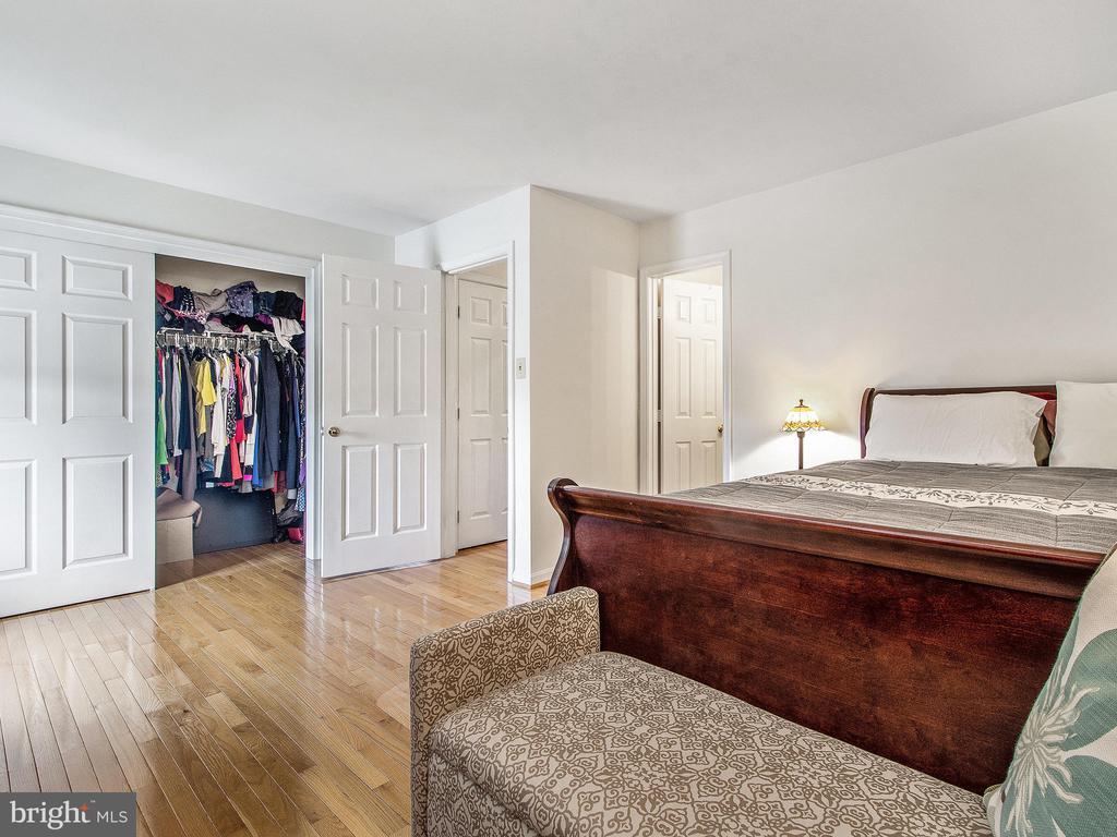 Master Bedroom 2, showing Closet Area - 12706 PERCHANCE TER, WOODBRIDGE