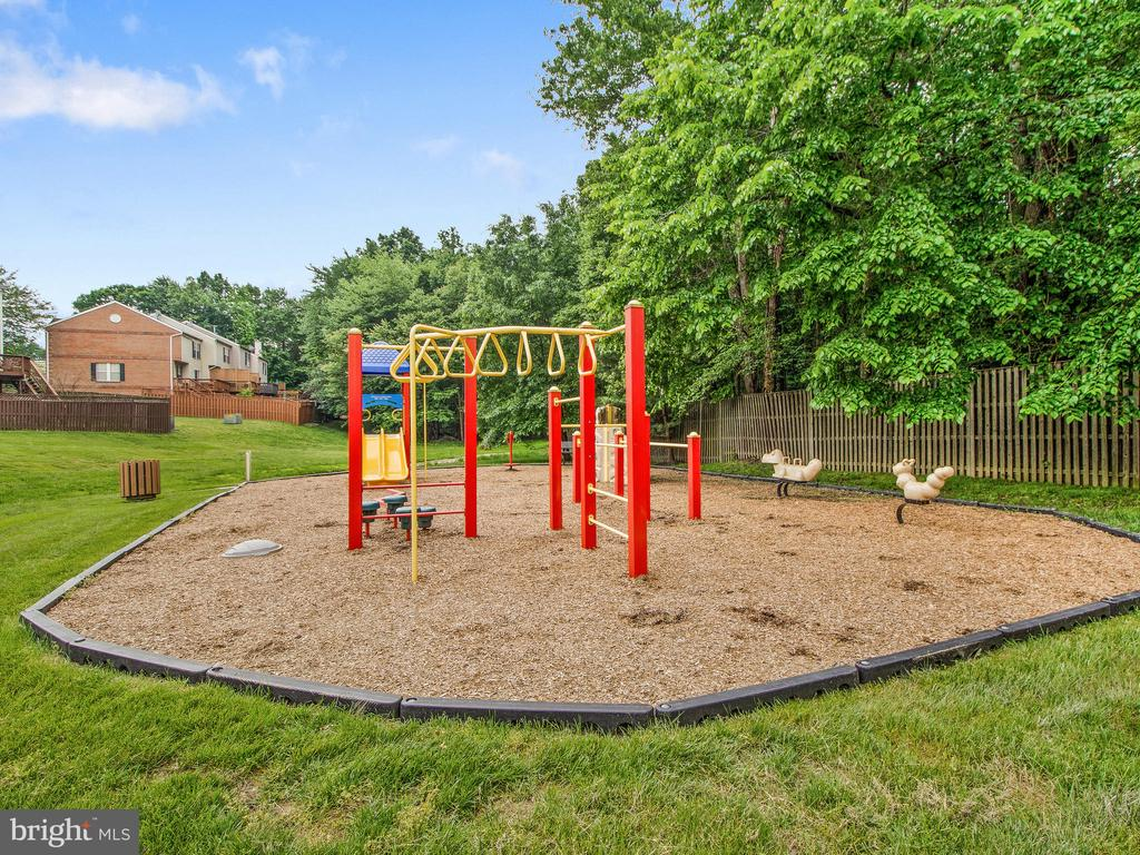 Playground, right outside fence - 12706 PERCHANCE TER, WOODBRIDGE