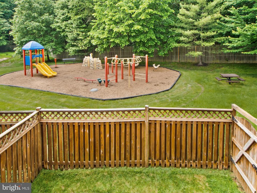 Playground from Deck - 12706 PERCHANCE TER, WOODBRIDGE