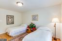 Love the size of these bedrooms. - 2742 N LEXINGTON ST, ARLINGTON
