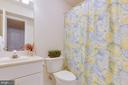 Lower level full bath. Adjoining is guest room. - 2742 N LEXINGTON ST, ARLINGTON
