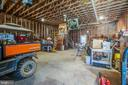 Barn interior - 10455 WHISPER FARM LN, LOCUST GROVE