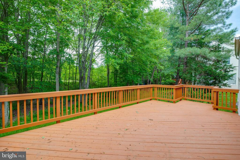 Huge Private Deck! - 2332 CLUB POND LN, RESTON