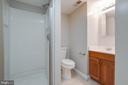 Full Bath in Basement - 2332 CLUB POND LN, RESTON