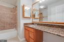 Full Bath Up-Stairs - 2332 CLUB POND LN, RESTON