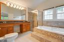 Master Bath - 2332 CLUB POND LN, RESTON