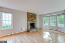 Family Room With a View! - 2332 CLUB POND LN, RESTON