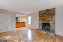 Beautiful Stone Fire Place - 2332 CLUB POND LN, RESTON
