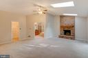 Fireplace in Master with Large Walk In Closet - 2332 CLUB POND LN, RESTON