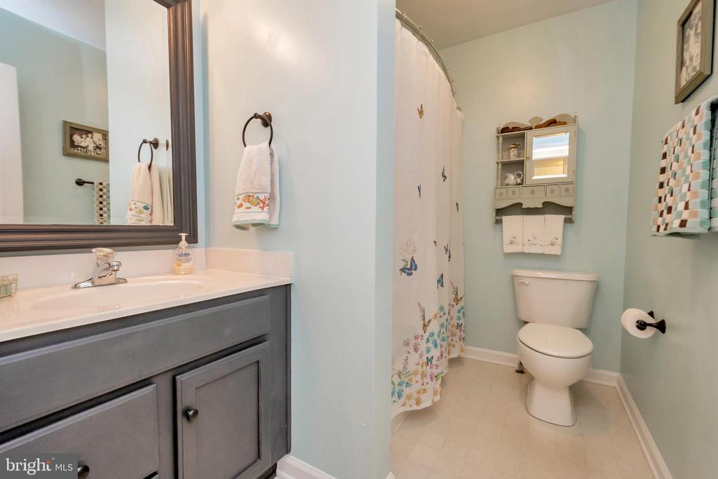 Main level bathroom - 119 MONTICELLO CIR, LOCUST GROVE