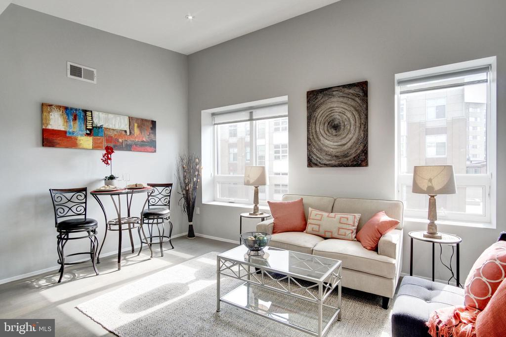Gorgeous living room! - 2422 17TH ST NW #301, WASHINGTON