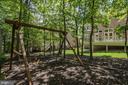 Wooded Backyard,  Swing Set Conveys - 11096 WHITSTONE PL, RESTON